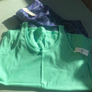 Lane Bryant tank top beautiful minty color 18/20